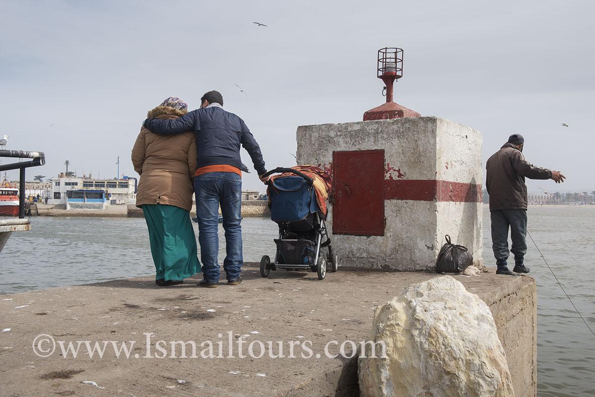 Marokko, Essaouira 20150304. Dagelijks leven , straatbeeld van provinciestadje. Daily life, streetscene.Naamsvermelding verplicht; Foto ; Sabine Joosten/Hollandse Hoogte